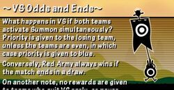 VS Odds and End