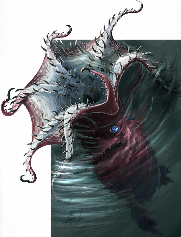 Giant Devilfish Octopus Devilfish | Pathfinder...