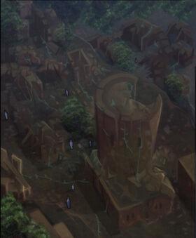 Amaranth ruins