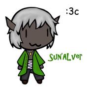 Sun'Alver custom chibi