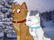 Snowy hearts by bookpaws-dakxmnb