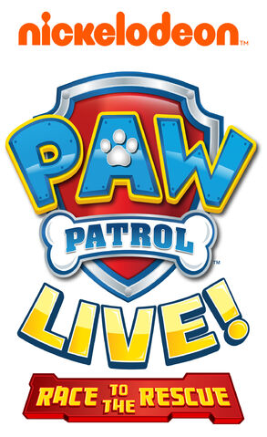 File:PAW Patrol Live! Race to the Rescue Logo.jpg