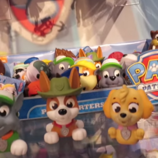 Wally included with other bath squirters at Toy Fair 2016