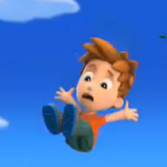 Alex falling