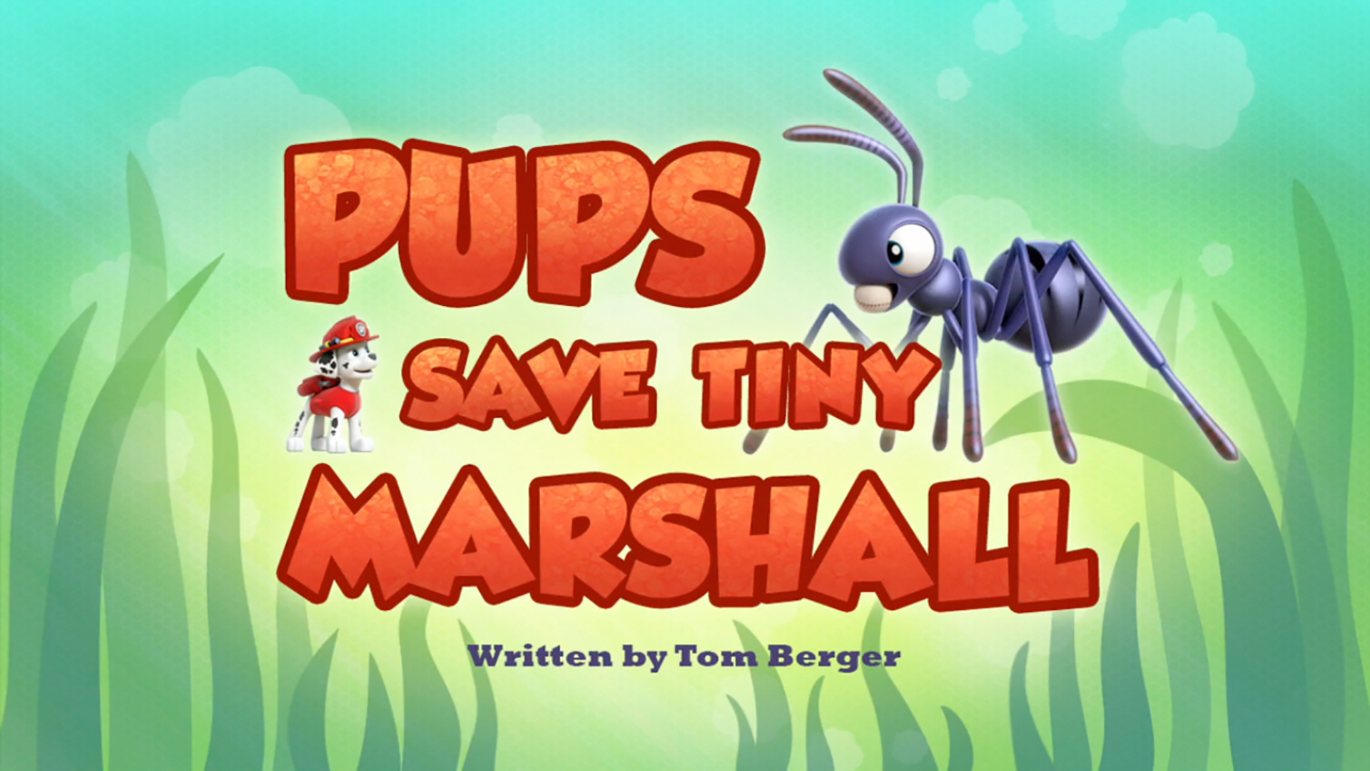 Pups Save Tiny Marshall Paw Patrol Wiki Fandom Powered