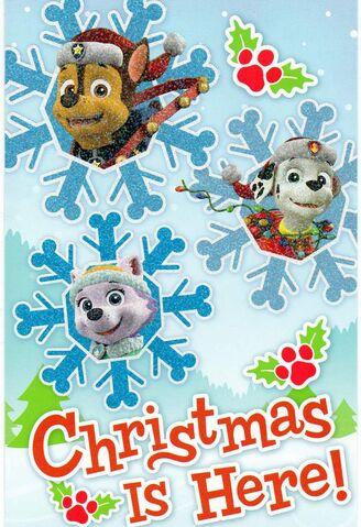 File:PAW Patrol Christmas card 1.JPG