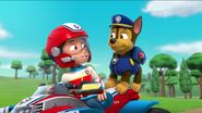 PAW Patrol Pups Save a School Bus Scene 39 Ryder Chase