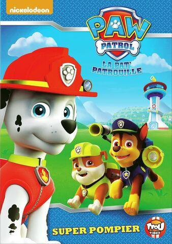 File:PAW Patrol La Pat' Patrouille Super pompier DVD.jpg
