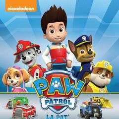 Belgian-Dutch cover (<i>PAW Patrol&#160;: La Pat' Patrouille</i>)