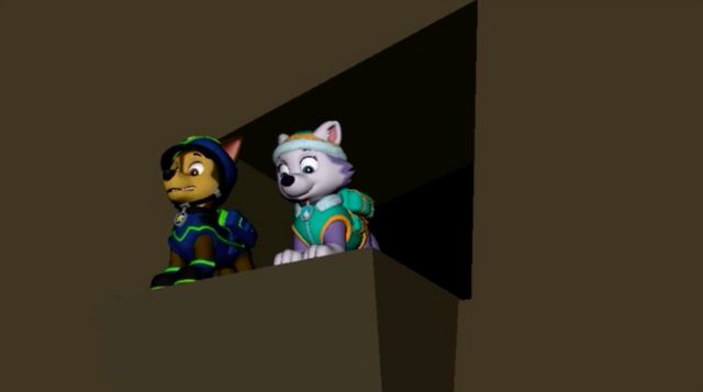File:PAW Patrol Animation Chase and Everest.png
