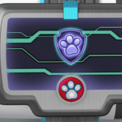 Ryder's wristband pup-pad for Mission PAW
