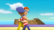 PAW Patrol Air Pups Cap'n Turbot Captain Francois Hugging