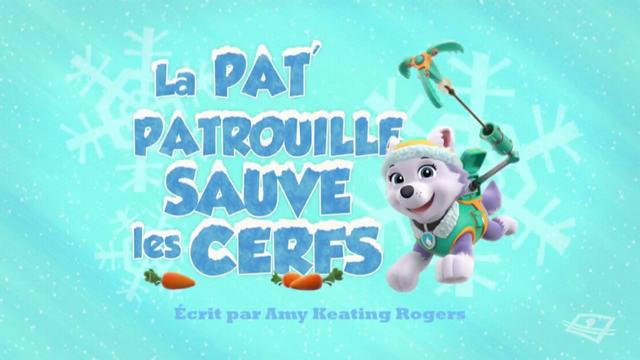 File:PAW Patrol La Pat' Patrouille La Pat' Patrouille sauve les cerfs.png