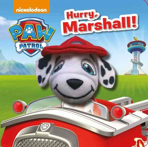File:PAW Patrol Hurry, Marshall! Book Cover.jpg