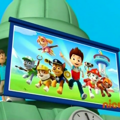 For the glory of PAW Patrol!