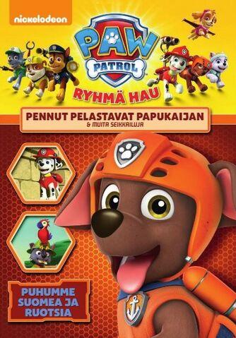 File:Ryhmä Hau Pennut pelastavat papukaijan & muita seikkailuja DVD.jpg