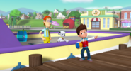 PAW Patrol Pups in a Fix Ryder Marshall Cap'n Turbot Captain