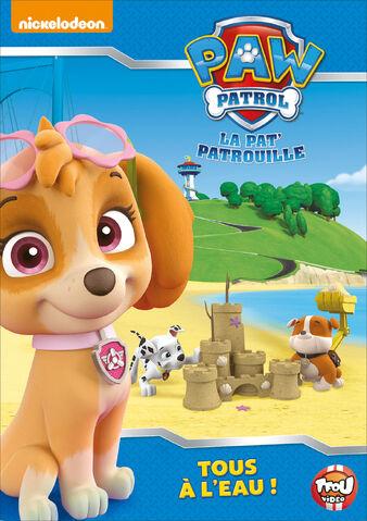 File:PAW Patrol La Pat' Patrouille Tous à l'eau ! DVD.jpg