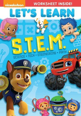 File:Nickelodeon Favorites - Let's Learn S.T.E.M. DVD cover art.jpg