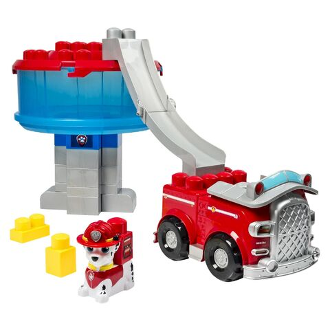 File:Spin Master Ionix Jr. PAW Patrol Marshall's Firetruck and Lookout Set.jpeg