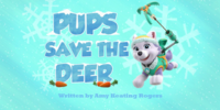 Pups Save the Deer