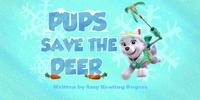 Pups Save the Deer