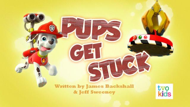 File:PAW Patrol Pups Get Stuck Title Card.png