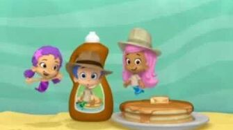 """Gil (Bubble Guppies) Does All """"The Work"""""""