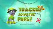 PAW Patrol Tracker Joins the Pups! Title Card