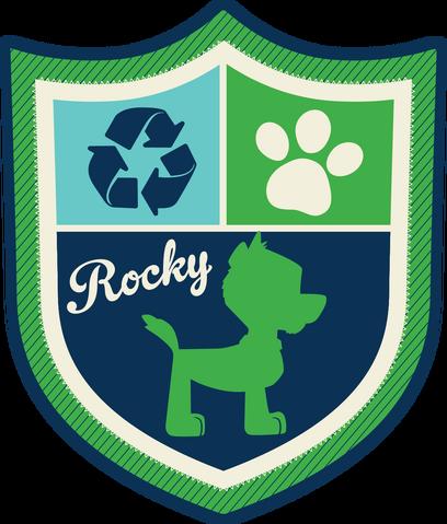 File:PAW Patrol Rocky Badge Alt.png