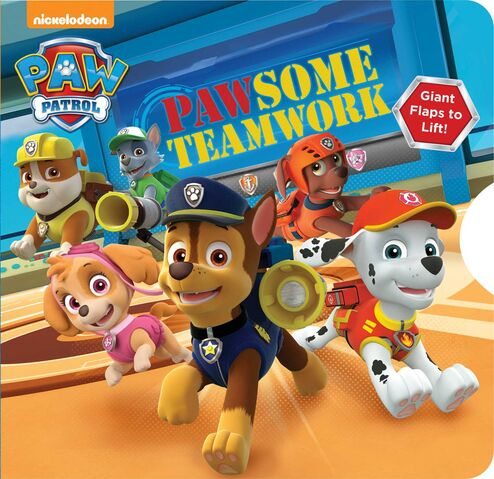 File:PAW Patrol Pawsome Teamwork Book Cover.jpg