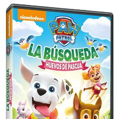 Spanish cover (<i>La búsqueda de los huevos de Pascua</i>)