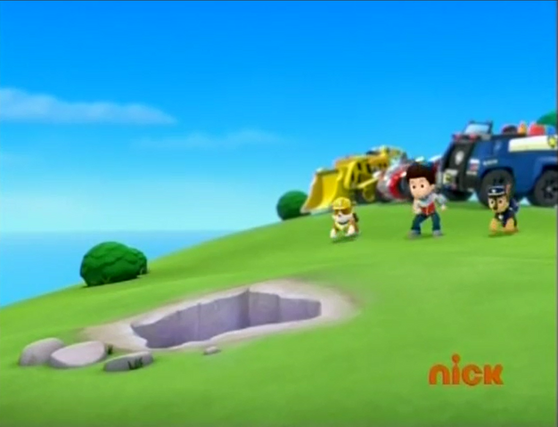 File:Ryder, Rubble and Chase found the hole.png