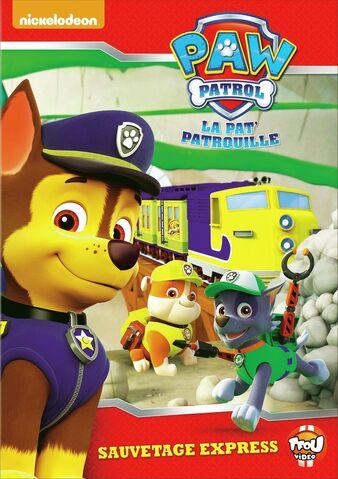 File:PAW Patrol La Pat' Patrouille Sauvetage express DVD.jpg