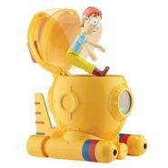 PAW Patrol Cap'n Turbot Captain Turbot Toy Diving Bell Bath Playset Figure 4