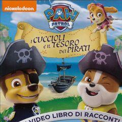 Italian cover (<i>I cuccioli e il tesoro dei pirati</i>)