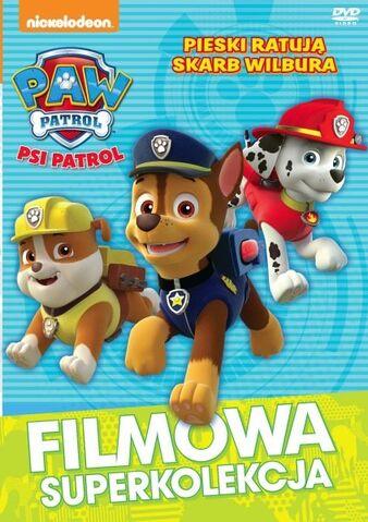 File:Psi patrol Pieski ratują skarb Wilbura DVD.jpg
