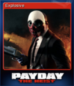 Explosive Trading Card