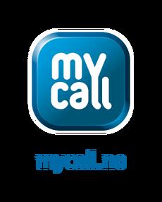 MyCall hoved logo positiv RGB