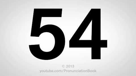 How to Pronounce 54