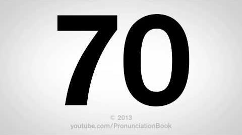 How to Pronounce 70