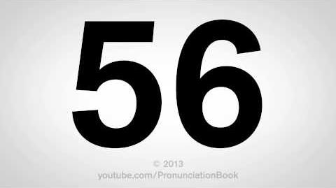 How to Pronounce 56-0