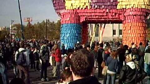 World's Largest Piñata in Philadelphia