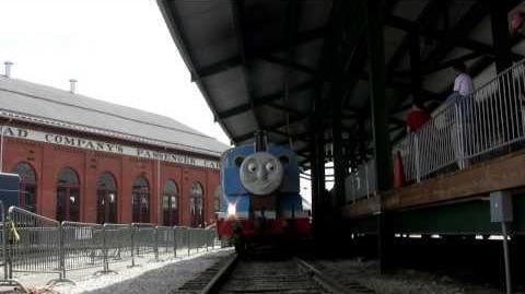 Thomas The Tank Engine @ B&O Railroad Museum