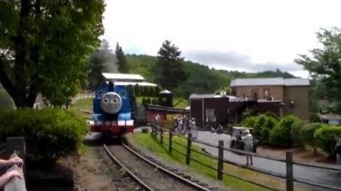 Day out with Thomas Tweetsie Railroad 2014