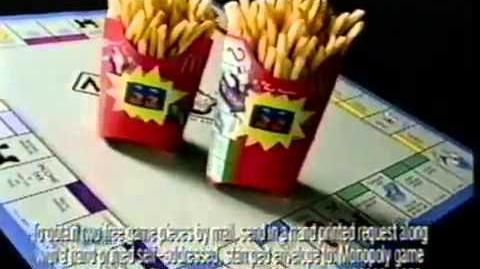 McDonald's Monopoly Ad- Your Fries (1997)