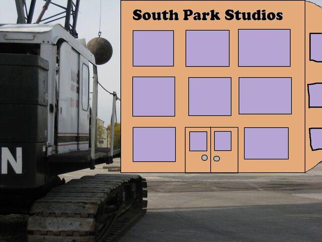 File:Demolition of South Park Sudios.jpg