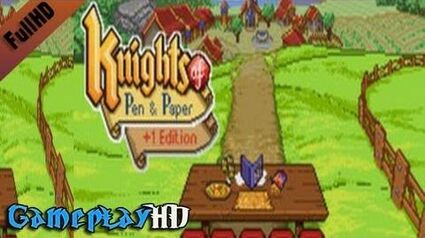 Knights of Pen and Paper +1 Edition Gameplay (PC HD)