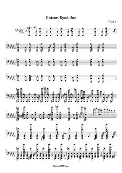 Cotton-Eyed-Joe-sheet-music-page 33515-1-1