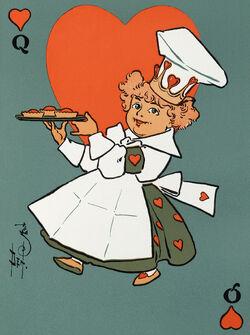 Queen of Hearts Mother Goose2